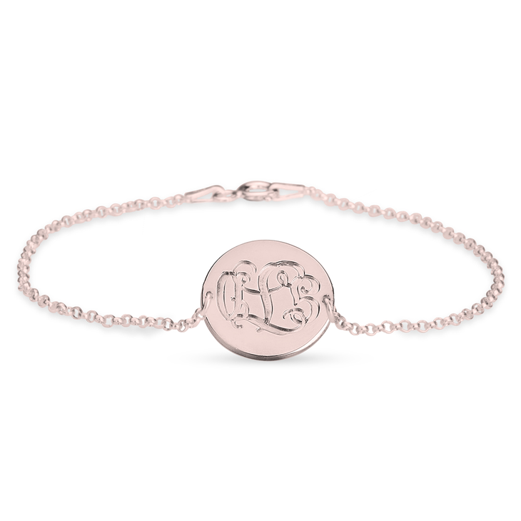 Engraved Monogram Bracelet