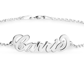 Carrie Style Name Bracelet