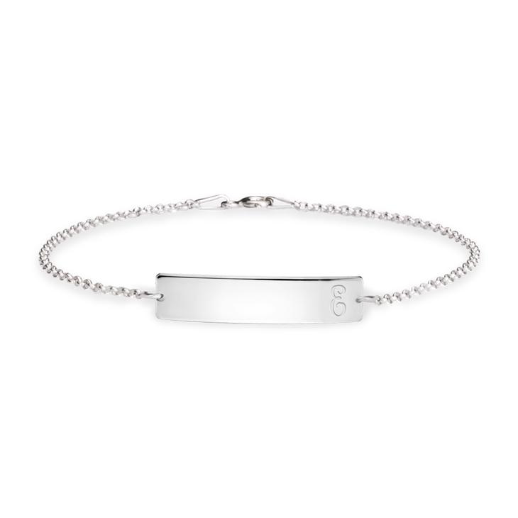 Bracelet Gourmette avec Initiale