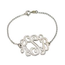 Bracelet Monogramme Ondulé