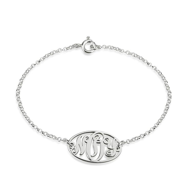 Dainty Monogram Bracelet