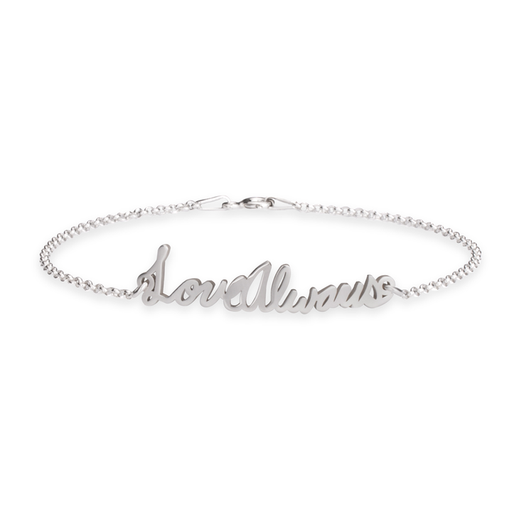 Personalised Signature Bracelet