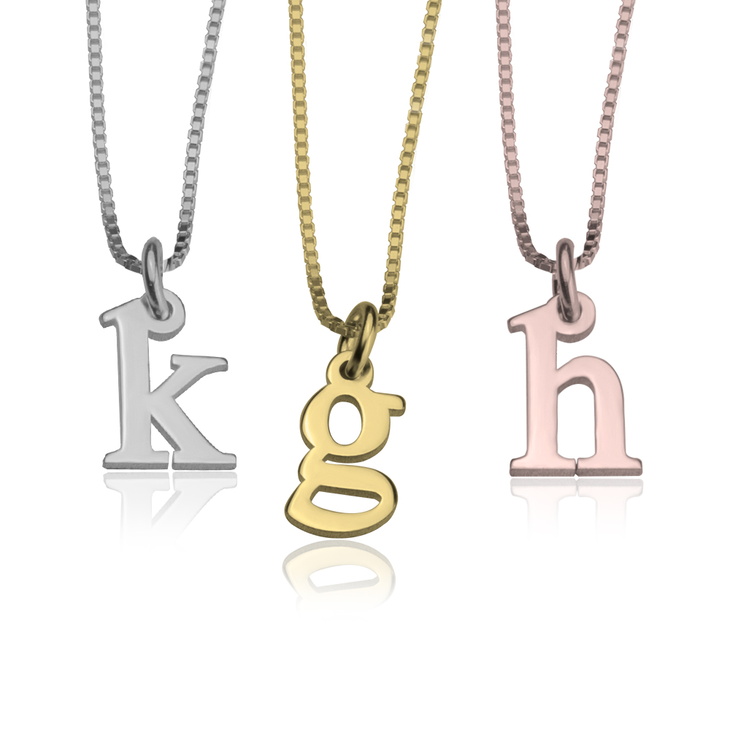 standard pendant metals letter additional precious metal choice love pendants s a options gemstone custom in of with