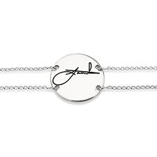 Bracelet Cercle avec Signature
