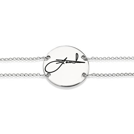 Circle Signature Bracelet