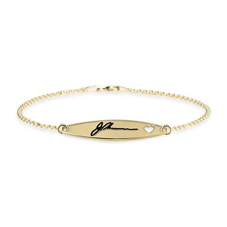 Signature Bracelet with Heart