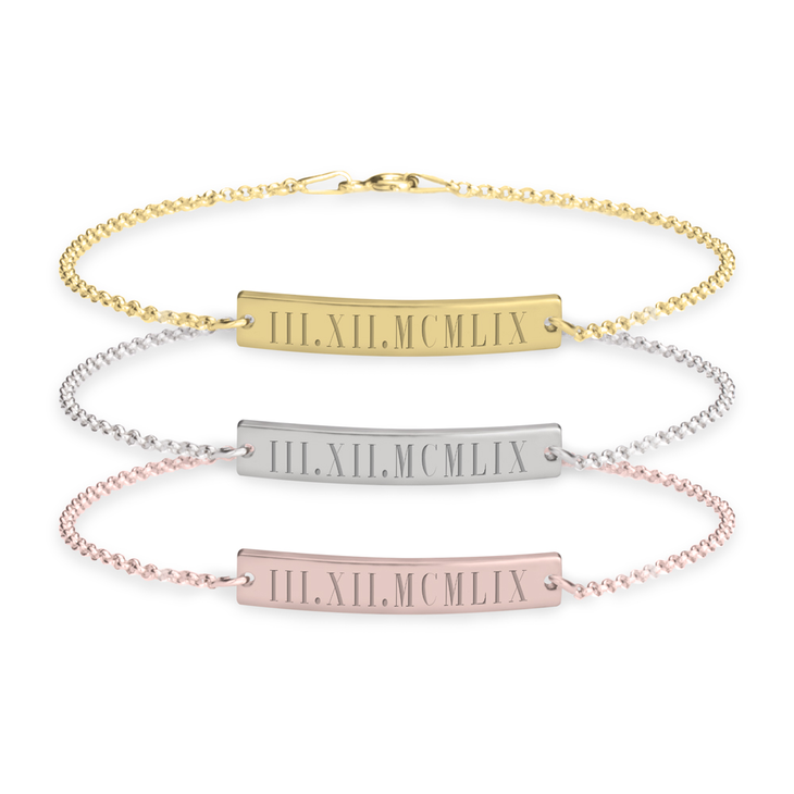 day com name your amazon til personalized shipping dp same gold gift cdt bar bracelet