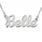Handwriting Name Necklace - Thumb