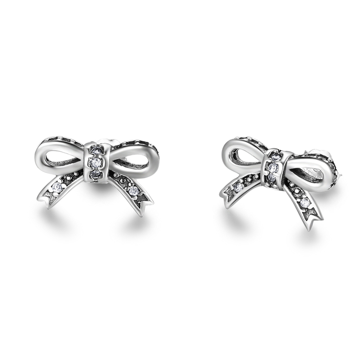 Tiny Bow Earrings