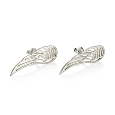 Angel Wing Stud Earrings