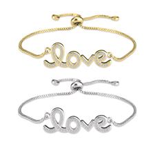 Bracelet Love avec Zirconium