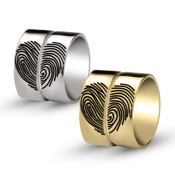 Fingerprint Ring  - Picture 2