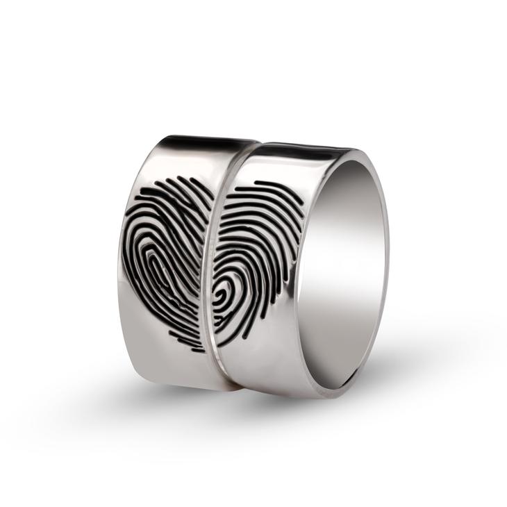 Fingerprint Ring - Picture 2