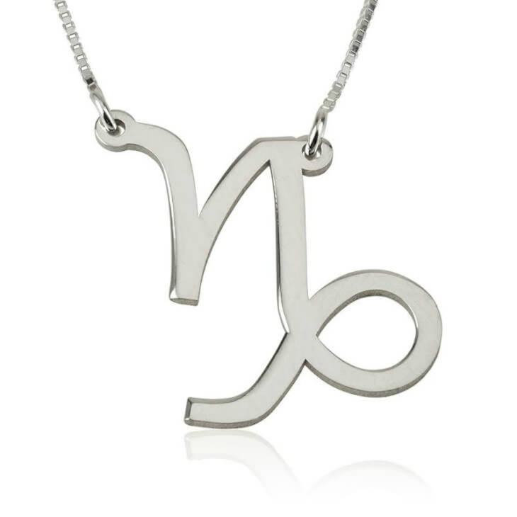 amazon cancer inches necklace dp com in zodiac silver
