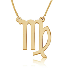 Virgo Zodiac Necklace