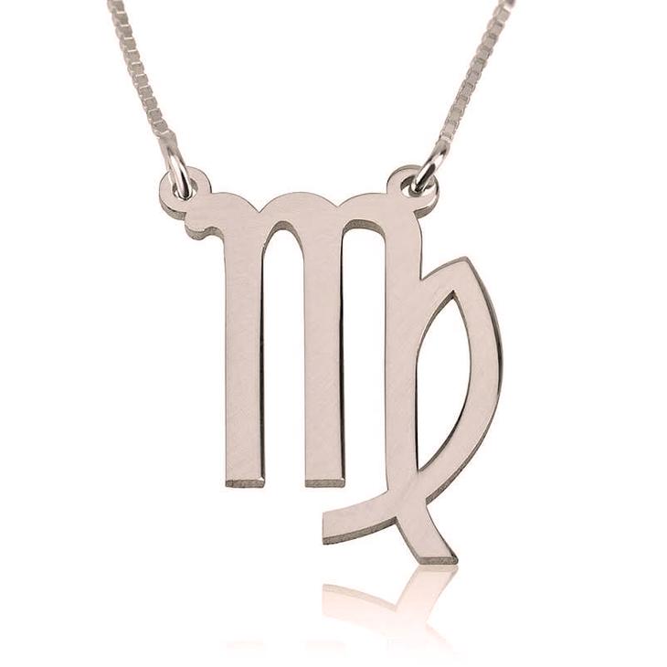 Virgo Zodiac Necklace