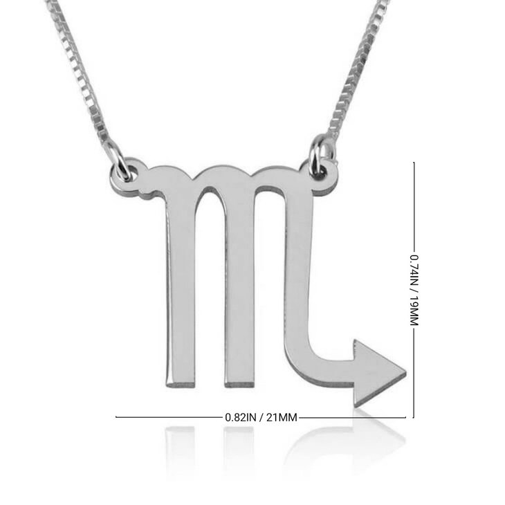 Scorpio Necklace - Information