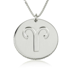 Disc Zodiac Necklace