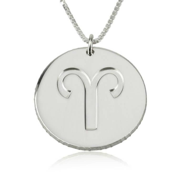 Disc Zodiac Necklace