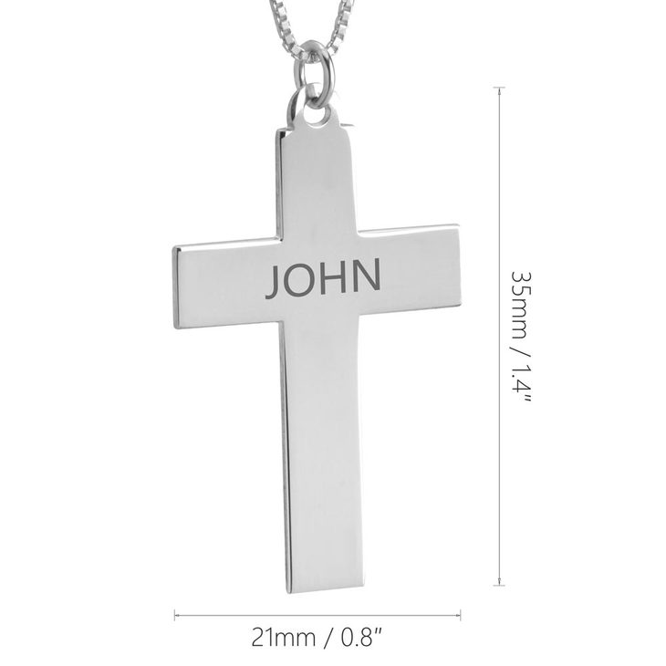 Cross Name Necklace - Information