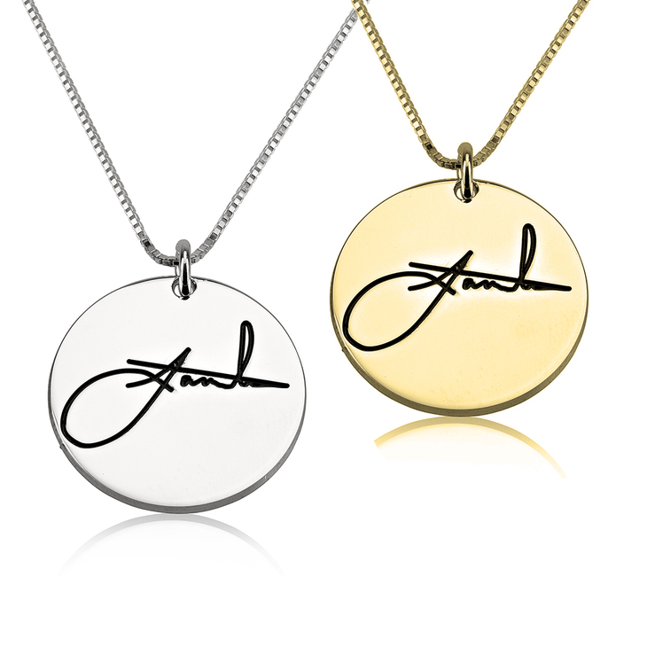 stylez jpg v house of circle signature pendant img the products necklace