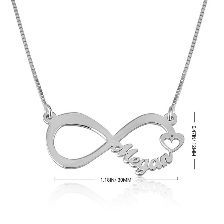 Infinity Name Necklace - Information