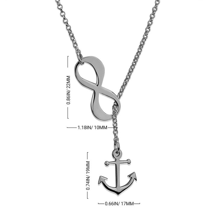 Infinity Anchor Necklace - Information