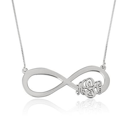 Infinity Monogram Necklace
