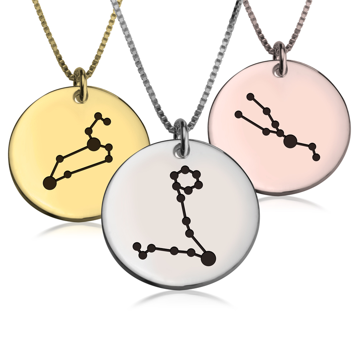 necklace jewelry virgo products eunajoyce constellation