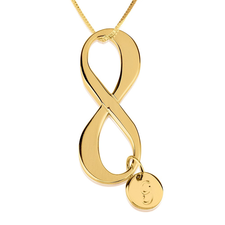 Initial Infinity Necklace