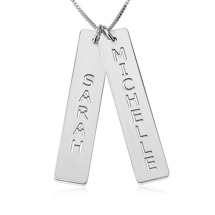 Vertical Bar Necklace