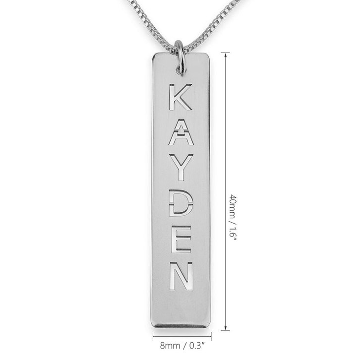 Bar Pendant Necklace - Information