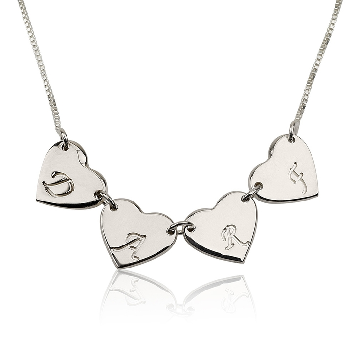 Linked Hearts Necklace  - Picture 3