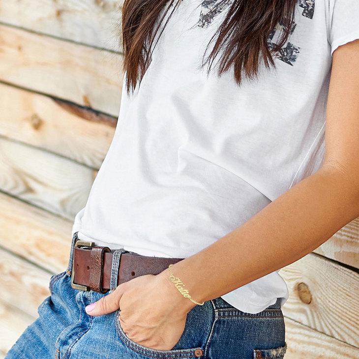Bracelet Prénom Classique - Model
