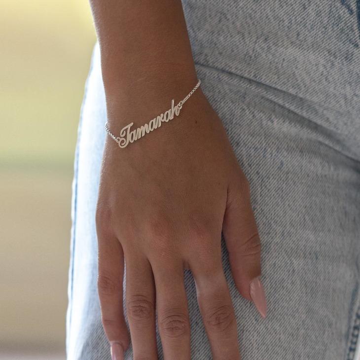 Personalised Name Bracelet - Model