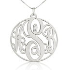 Collier Monogramme Circulaire - Thumb
