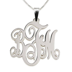Classic Monogram Necklace  - Thumb
