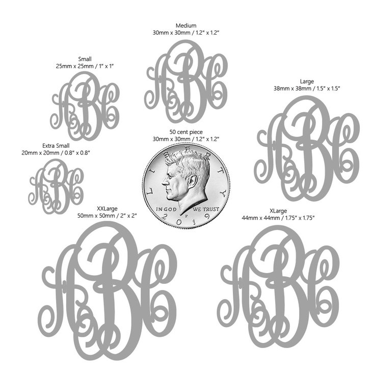 Classic Monogram Necklace - Information