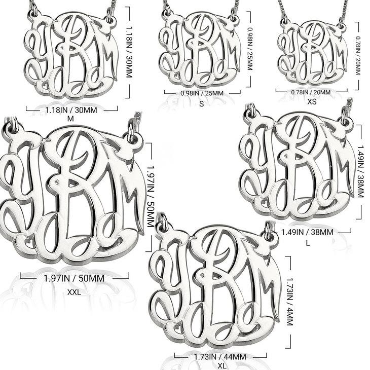 Collar Monograma Celebridad - Information