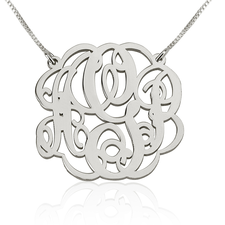 Collier Monogramme Arabesque