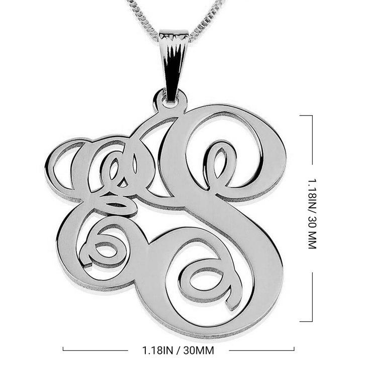 Collar Monograma de Dos Letras - Information