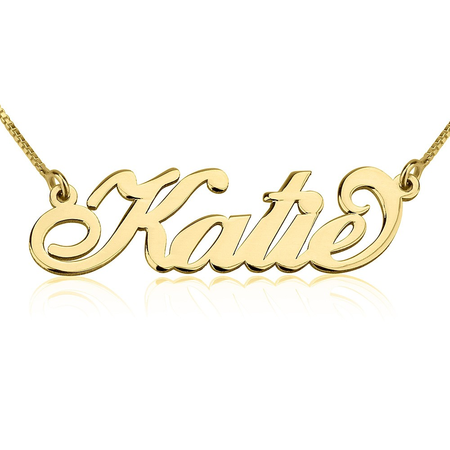 2e26397cb7a68 Carrie Name Necklace
