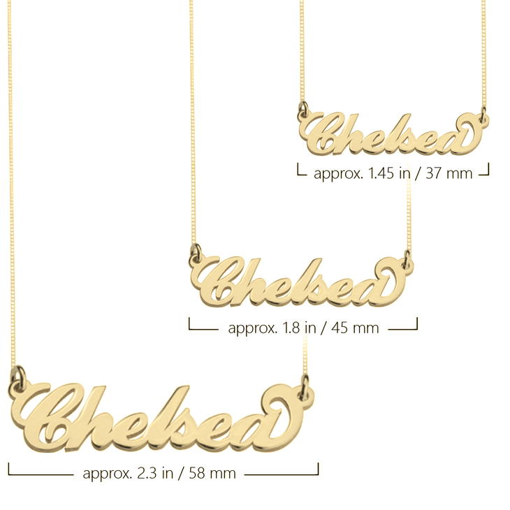 f1d3a2cfa Carrie Name Necklace; Carrie Name Necklace - Picture 2 ...