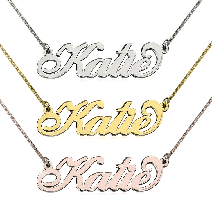 c0ab602fc Carrie Name Necklace