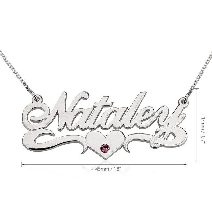 Swarovski Name Necklace - Information