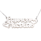 Two Name Necklace - Thumb