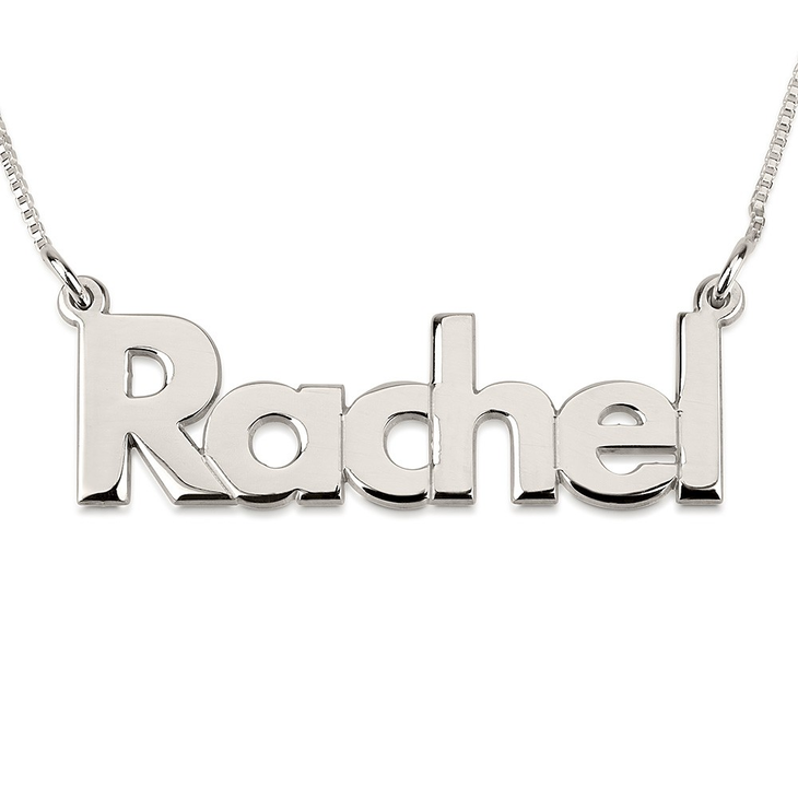 Bold Name Necklace