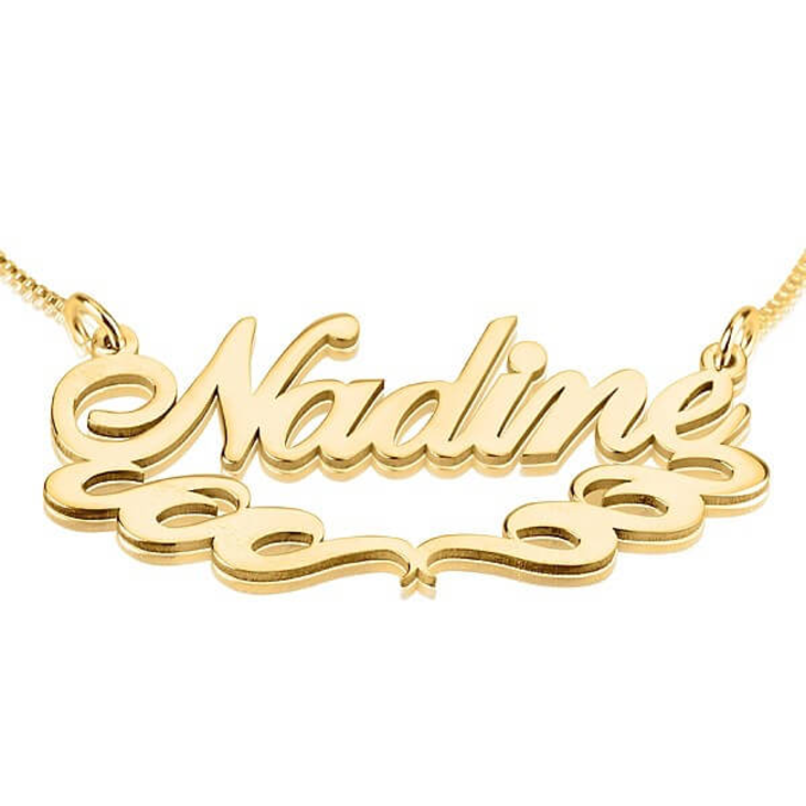 Underlined Name Necklace  - Picture 2