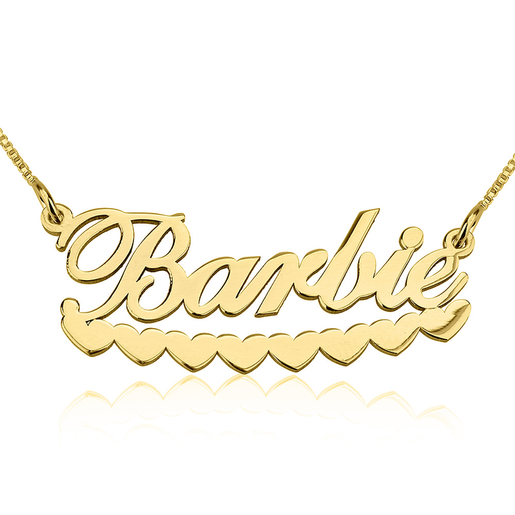 Underlined Name Necklace  - Picture 5