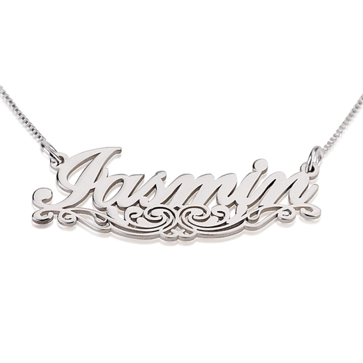 Underlined Name Necklace